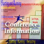 MLM Startup Company Conference - Starting and Running the Successful MLM Company